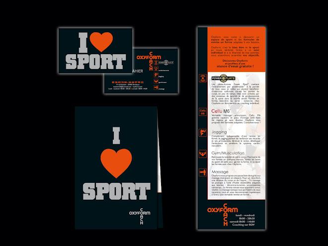 Création d'une charte graphique pour Oxyform / Coaching Sportif