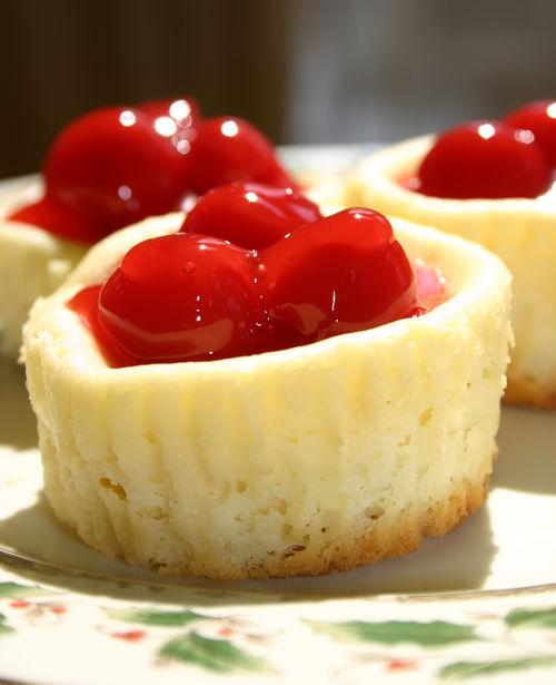 cheesecakes drunken mini cherry cheesecakes cook i es n cream mini ...