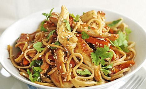 To die for recipes chicken vegetable chow mein chicken vegetable chow mein forumfinder Image collections