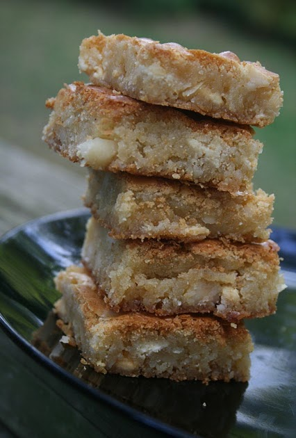 To. Die. For. Recipes : Macadamia Coconut Cookie Bars