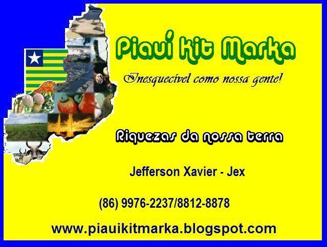Piauí Kit Marka - Inesquecível como nossa gente!