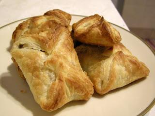 ciasteczka - francuskie pakieciki z rodzynkami
