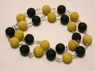 biżuteria z półfabrykatów - koral i lawa (korale)