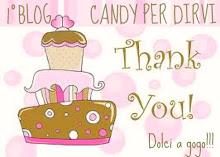 Il Blog Candy di Dolci a Gogò