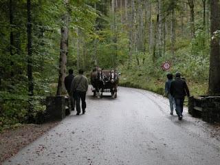 Дорога к замку Нойшванштейн