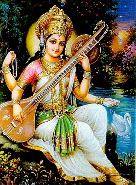 SARASVATI DEVI by VISHNU108 on DeviantArt