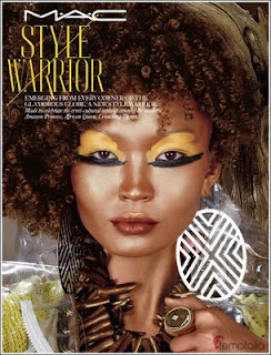 Beauty Bee-haviors: MAC Style Warrior collection