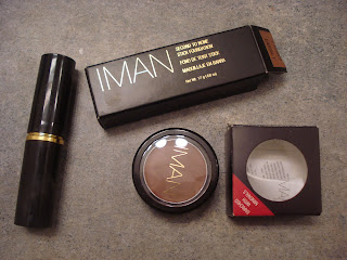 Iman Cosmetics Foundations, Take 1