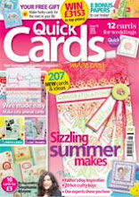 See My Designs In Quick Cards Made Easy Magazine