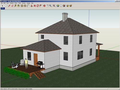 tecknologia HB: google sketchup (programa para dibujar graficos 3D)