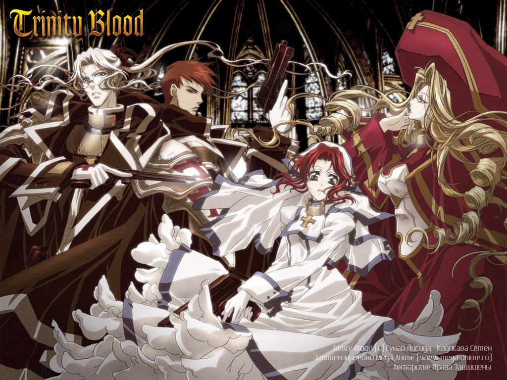 Anime - Trinity Blood Trinitybloodanime