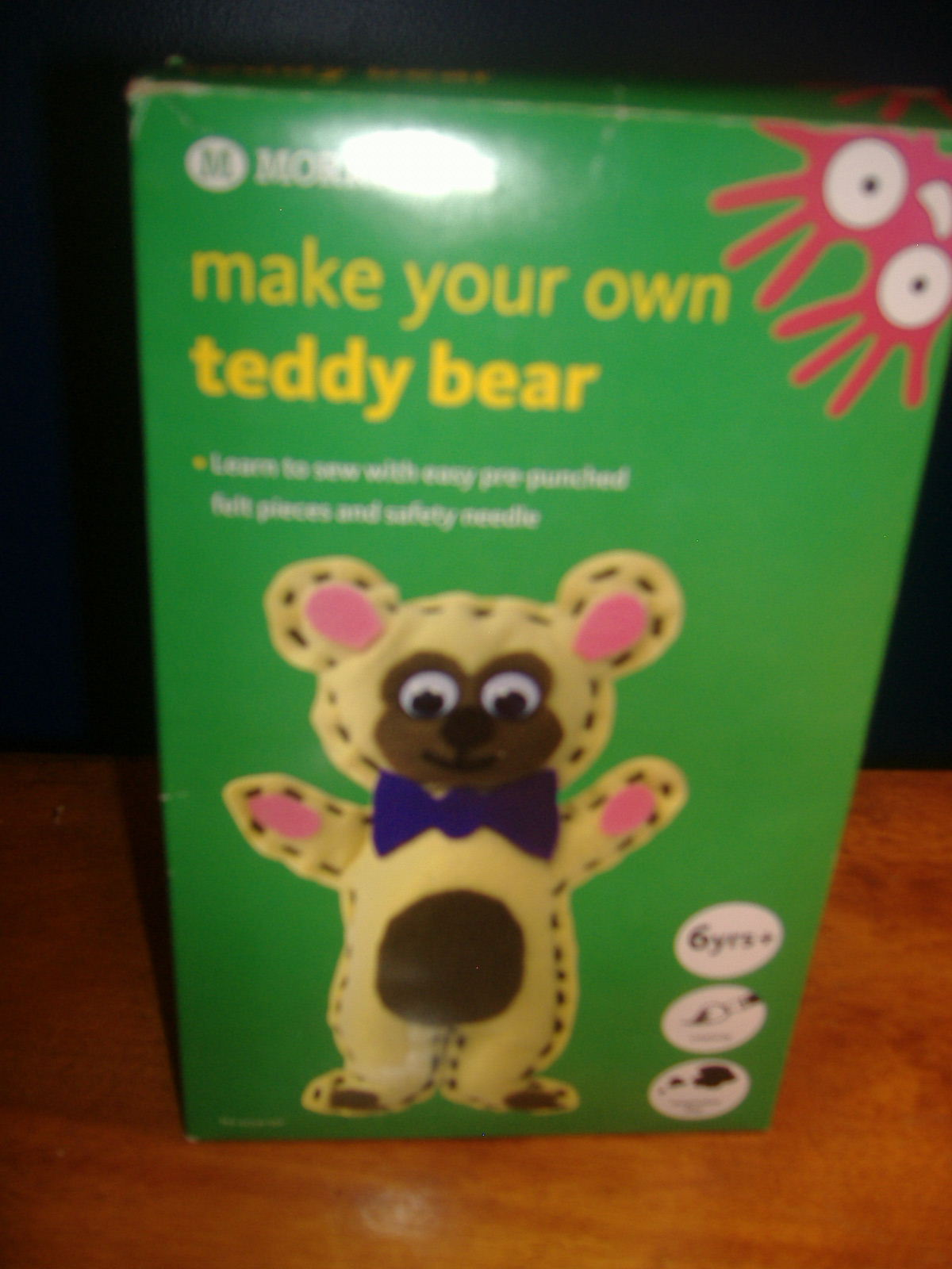Porter 39 s primary crafts morrisons brand make your for Make your own teddy bear template