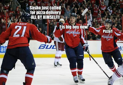 Laich, Morissonn celebrate with Sasha