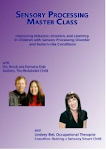 "<a href=""https://www.createspace.com/276958"">Sensory Processing Master Class</a>"