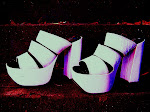 My Hot Dancing Heels, Pop Art fine art photography 6 x 8