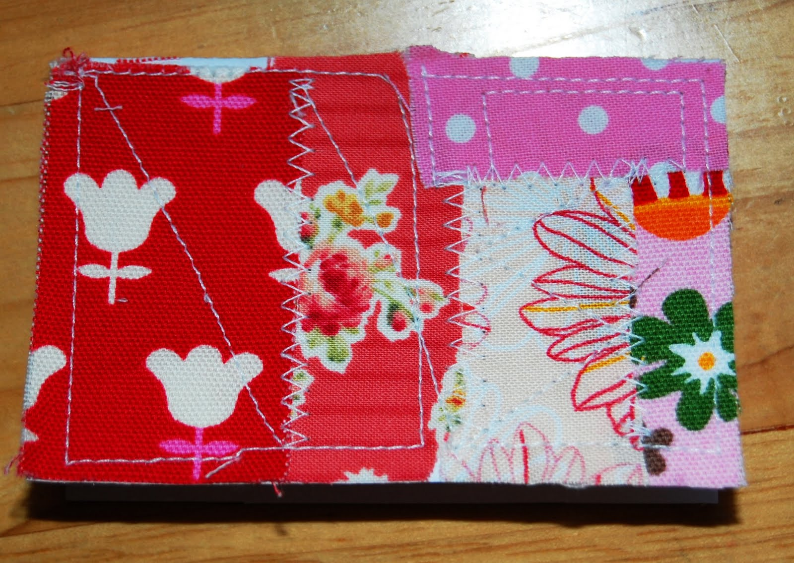 Mybotang fabric scrap series cards - Have You Tried Sewing On Papers It S A Nice Feeling Give It A Try Scrap Fabric Series
