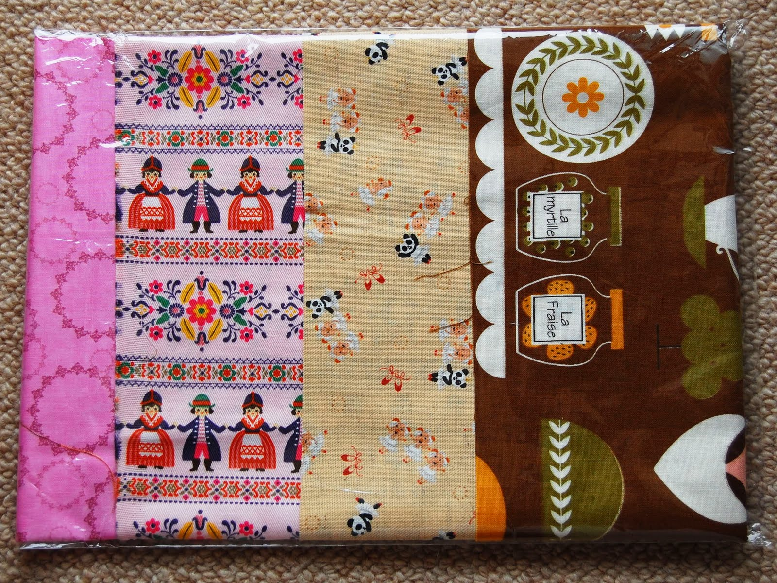 Mybotang fabric scrap series cards - 5 Code Name Fe5