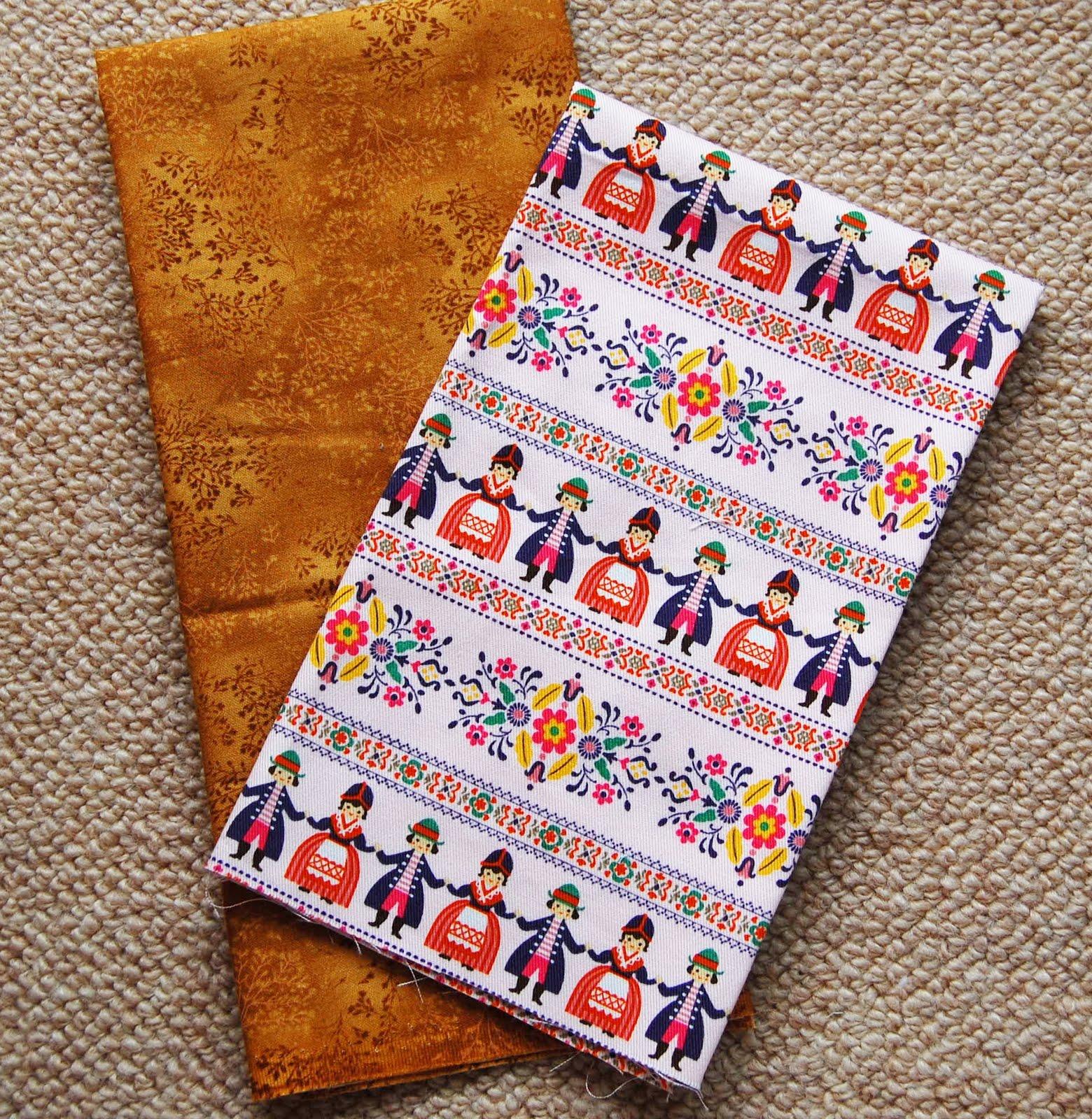 Mybotang fabric scrap series cards - Fabrics Robert Kauffman And Japanese Cotton