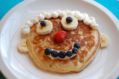 happy face pancakes