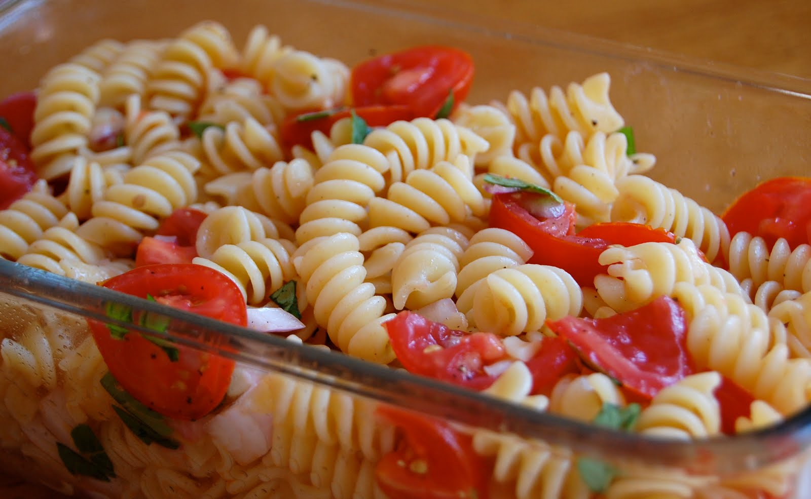 Chef Mommy: Tomato Basil Pasta Salad