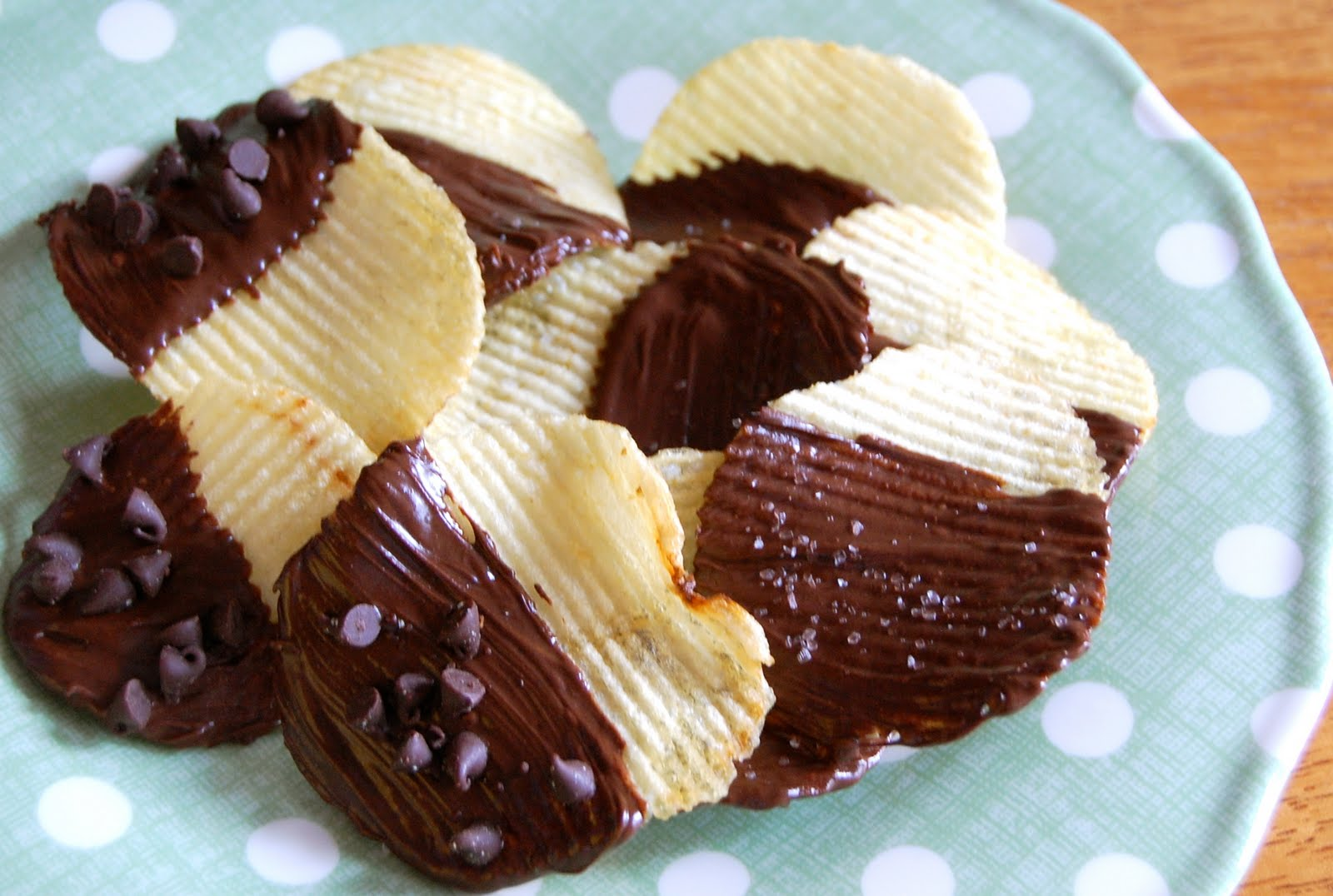 Chef Mommy: Chocolate Covered Potato Chips