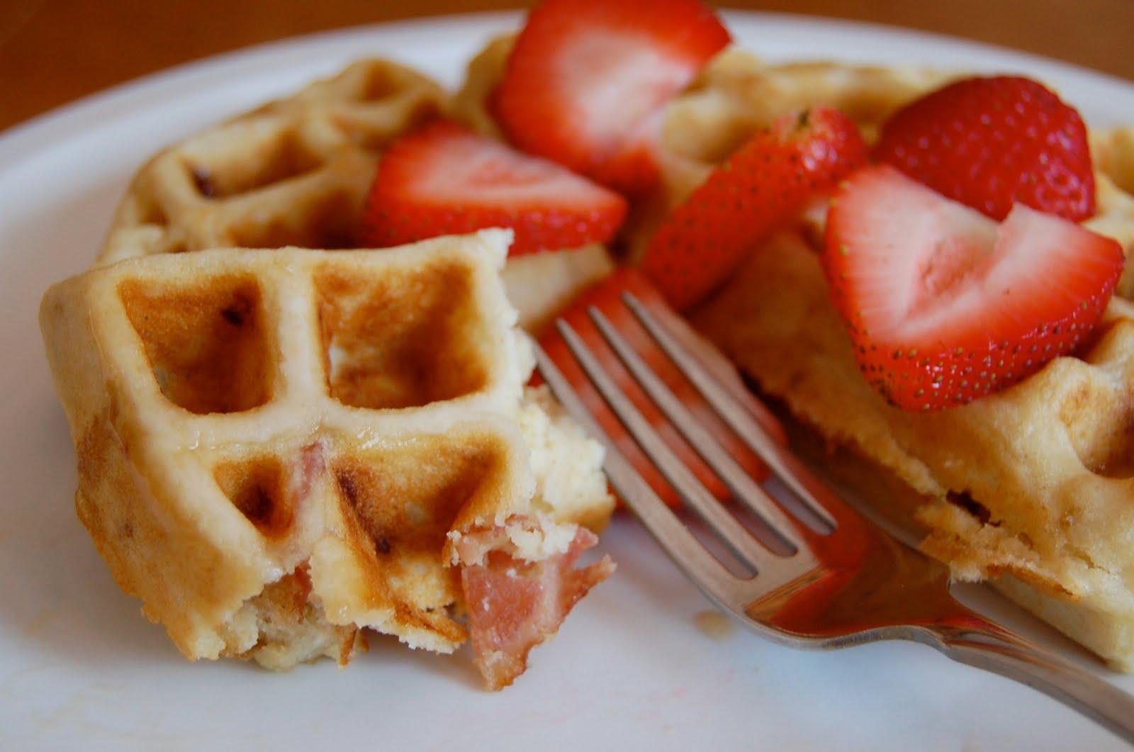 Chef Mommy: Brown Sugar Bacon Waffles