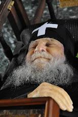 Părintele Iosif Vatopedinul Anul trecut pe 1 iulie când ar fi trebuit să împlinească vârsta de 88