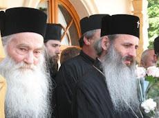 părintele Iustin si ÎPS Teofan
