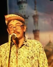 aming jadi ketua tadarus puisi 2010