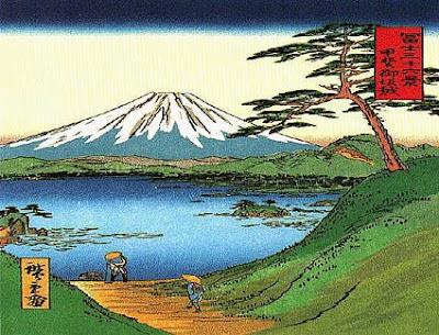 Estampes japonaises Fuji_hokusai