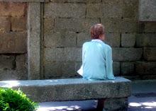 El Escorial - mujer