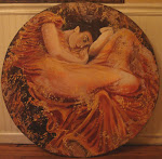 Fresco variation Flaming June reroduction