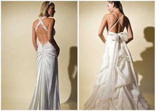 Wedding dress styles for Wedding dresses with interesting backs