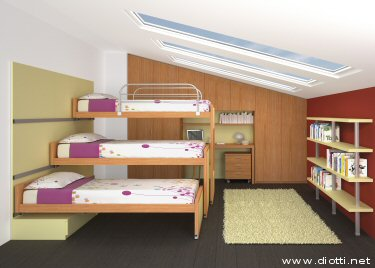 Dormitorios infantiles recamaras para bebes y ni os for Habitaciones para ninas 8 anos