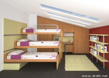 Dormitorios infantiles recamaras para bebes y ni os for Cuartos de ninas 11 anos