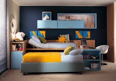Dormitorios infantiles recamaras para bebes y ni os - Dormitorios dobles para ninos ...