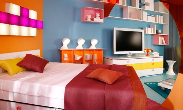 Famous interior design vibel dormitorios full energia for Recamaras para ninas adolescentes
