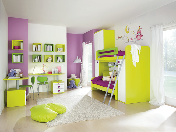 Decoracion Recamaras Infantiles ~ DORMITORIO MINIMALISTA PARA NI?OS Y NI?AS via wwww dormitoriosnenes