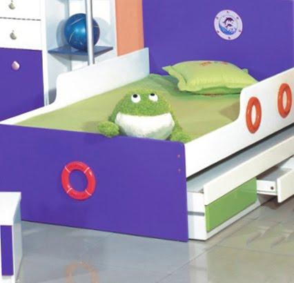 Dormitorios infantiles recamaras para bebes y ni os camas for Camas infantiles para ninos