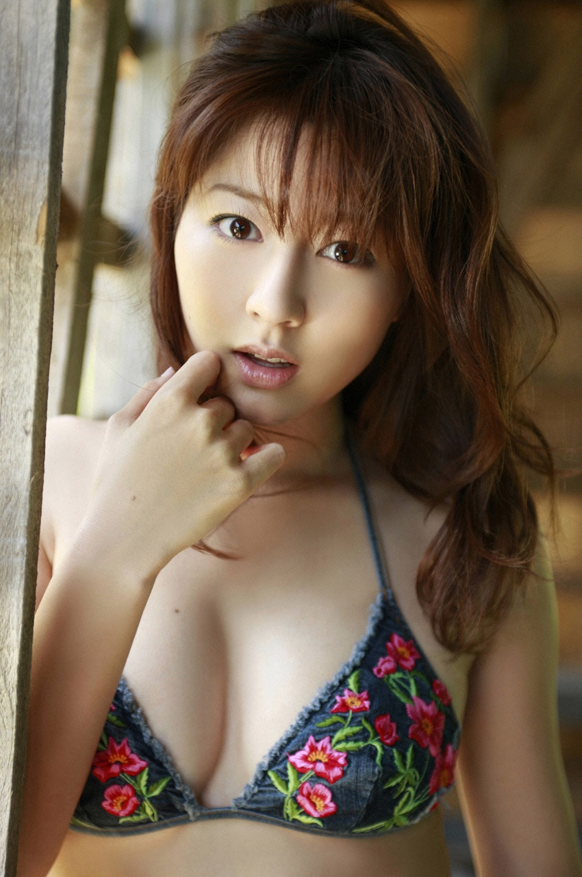 She is a Japanese model that dresses in provocative, but non-nude clothing.