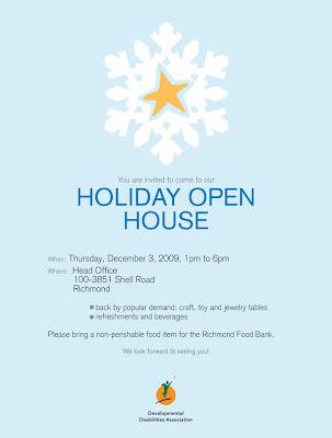 DDA Holiday Open House