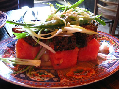 watermelon salad watermelon and mint salad crispy pork and watermelon ...