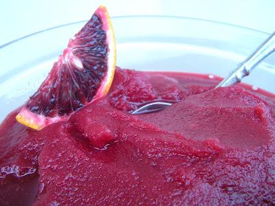 Blood Orange Sorbet - OMG is this good! | Yummy Mummy Kitchen | A ...