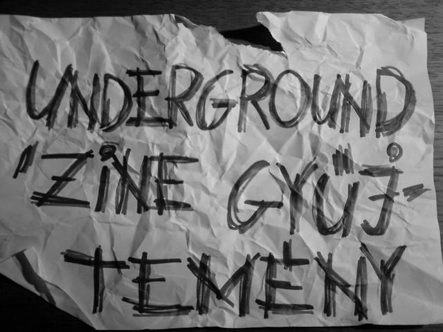 Underground 'zine gyűjtemény
