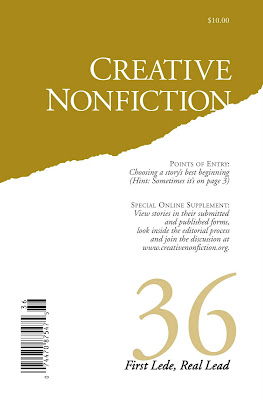 Creative Nonfiction Prize-winning Essay
