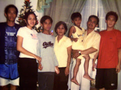 Magundayao Family: Bryan, Mane, Jerome Deo, Cora, Nathaniel, Rolando ken Joel Mark