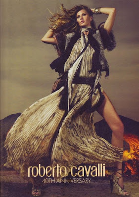 Gisèle Bündchen by Mert and Marcus for Roberto Cavalli 40th Anniversary Campaign 2011