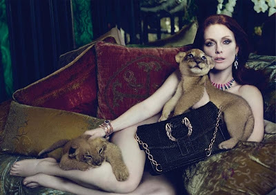 Julianne Moore by Mert and Marcus for Bulgari AW 2010/11 AD Campaign