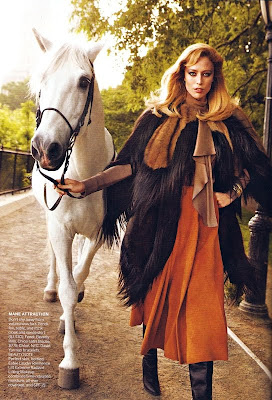 Raquel Zimmermann by Inez van Lamsweerde and Vinoodh Matadin for Vogue US August 2010