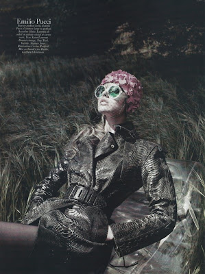 Frida Gustavsson by David Sims for Vogue Paris August 2010